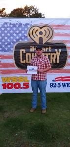 Nicholas attended Cole Swindell and Dustin Lynch: Reason to Drink Another Tour on Oct 5th 2018 via VetTix
