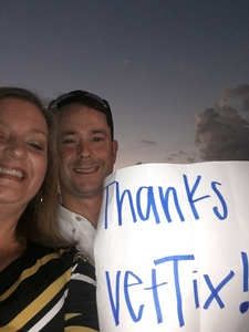 David attended Cole Swindell and Dustin Lynch: Reason to Drink Another Tour on Oct 5th 2018 via VetTix
