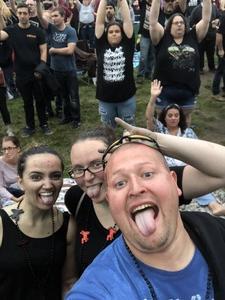 Les attended Rock Allegiance - Alternative Rock on Oct 6th 2018 via VetTix