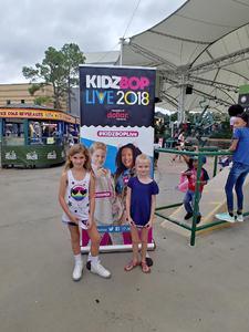 Sylvie attended Kidz Bop 9. 23. 18 @ Cwmp - Houston, Tx on Sep 23rd 2018 via VetTix