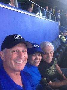 Gregory attended Tampa Bay Lightning vs. Florida Panthers - NHL Preseason on Sep 25th 2018 via VetTix