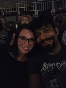 Maria attended Justin Timberlake - the Man of the Woods Tour - Pop on Sep 25th 2018 via VetTix