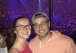 Brooke attended Justin Timberlake - the Man of the Woods Tour - Pop on Sep 25th 2018 via VetTix