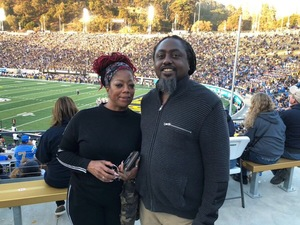 greg attended University of California Berkeley Bears vs. UCLA Bruins - NCAA Football on Oct 13th 2018 via VetTix