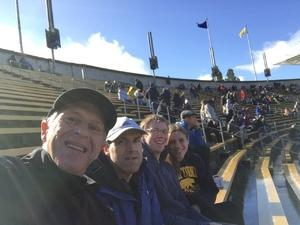 Mark attended University of California Berkeley Golden Bears vs. Stanford - NCAA Football on Dec 1st 2018 via VetTix