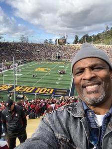 leroy attended University of California Berkeley Golden Bears vs. Stanford - NCAA Football on Dec 1st 2018 via VetTix