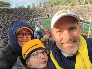 Rob Church attended University of California Berkeley Golden Bears vs. Stanford - NCAA Football on Dec 1st 2018 via VetTix
