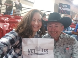 Calvin attended PBR Real Time Pain Relief Velocity Finals - Friday on Nov 2nd 2018 via VetTix