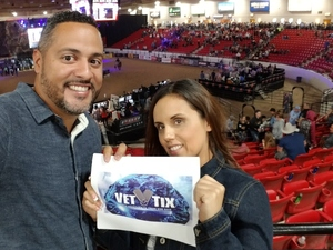 Edward attended PBR Real Time Pain Relief Velocity Finals - Friday on Nov 2nd 2018 via VetTix