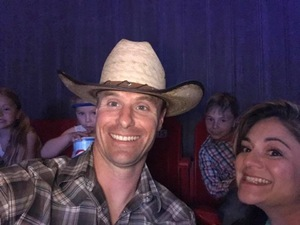 Tara attended PBR Real Time Pain Relief Velocity Finals - Friday on Nov 2nd 2018 via VetTix