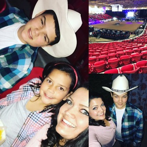 Telles Family attended PBR Real Time Pain Relief Velocity Finals - Friday on Nov 2nd 2018 via VetTix