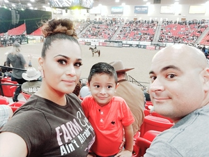 CLAUDIA attended PBR Real Time Pain Relief Velocity Finals - Friday on Nov 2nd 2018 via VetTix