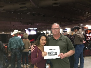 Timothy attended PBR Real Time Pain Relief Velocity Finals - Saturday on Nov 3rd 2018 via VetTix