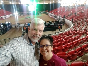 Ronald attended PBR Real Time Pain Relief Velocity Finals - Saturday on Nov 3rd 2018 via VetTix