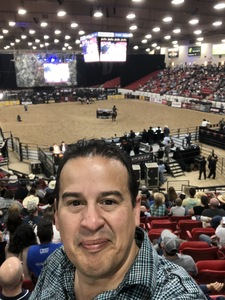 Luis R. attended PBR Real Time Pain Relief Velocity Finals - Saturday on Nov 3rd 2018 via VetTix