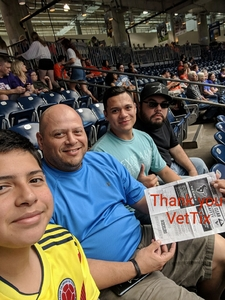 Hector Lechuga attended Sam Houston State University Bearkats vs Stephen F. Austin Lumberjacks - NCAA Football - Battle of the Piney Woods on Oct 6th 2018 via VetTix