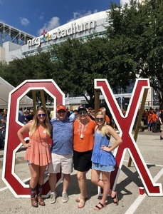 Paul attended Sam Houston State University Bearkats vs Stephen F. Austin Lumberjacks - NCAA Football - Battle of the Piney Woods on Oct 6th 2018 via VetTix