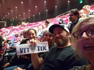 Gregory and Karen attended Modest Mouse on Oct 6th 2018 via VetTix