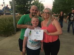 Brookly attended Keith Urban: Graffiti U World Tour on Sep 27th 2018 via VetTix