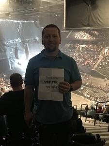 Daniel attended Keith Urban: Graffiti U World Tour on Sep 27th 2018 via VetTix
