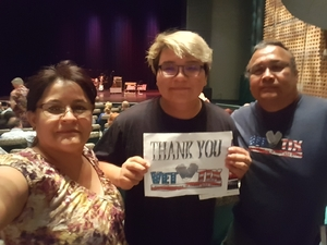 Wil attended John Oates and the Good Road Band on Sep 26th 2018 via VetTix