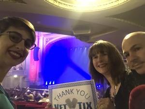 Stephens Family attended Lord of the Dance - Dangerous Games - Dance on Oct 20th 2018 via VetTix