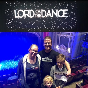 Nicholas attended Lord of the Dance - Dangerous Games - Dance on Oct 20th 2018 via VetTix