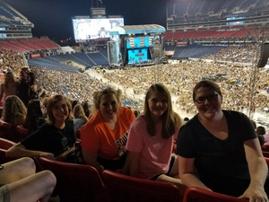 Amanda attended Ed Sheeran: 2018 North American Stadium Tour - Pop on Oct 6th 2018 via VetTix