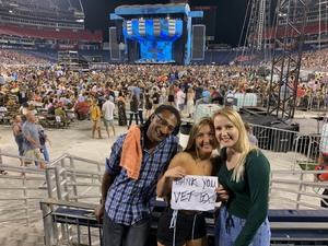 David attended Ed Sheeran: 2018 North American Stadium Tour - Pop on Oct 6th 2018 via VetTix