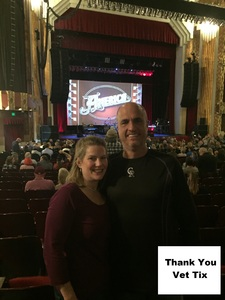 Charles attended America at the Paramount Theatre on Sep 27th 2018 via VetTix
