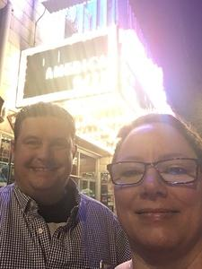 Shelly attended America at the Paramount Theatre on Sep 27th 2018 via VetTix