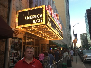 John attended America at the Paramount Theatre on Sep 27th 2018 via VetTix