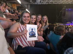 Savannah attended Brett Eldredge: the Long Way Tour - Country on Oct 4th 2018 via VetTix