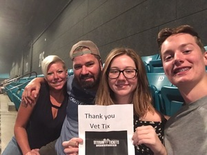 Rob attended Fall Out Boys on Sep 28th 2018 via VetTix