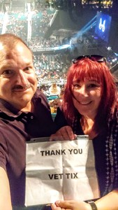 Douglas attended Fall Out Boys on Sep 28th 2018 via VetTix