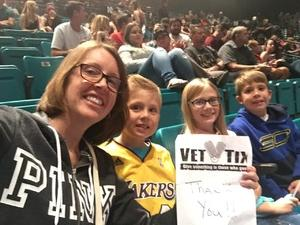 Tina attended Fall Out Boys on Sep 28th 2018 via VetTix