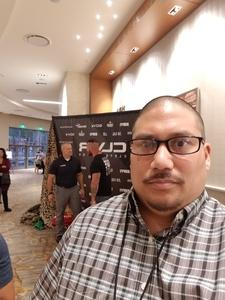 NECRAM attended Clever Talks: Made in America Vet Tix Exclusive on Oct 11th 2018 via VetTix