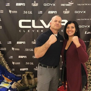 Rosa attended Clever Talks: Made in America Vet Tix Exclusive on Oct 11th 2018 via VetTix