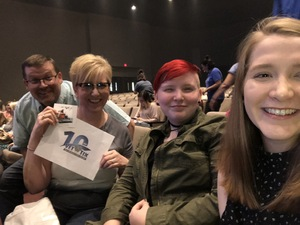 Heather attended Big Church Night Out on Oct 12th 2018 via VetTix