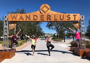Jessica attended Wanderlust 108 Tampa - a 5k, Yoga and Meditate Festival on Nov 3rd 2018 via VetTix