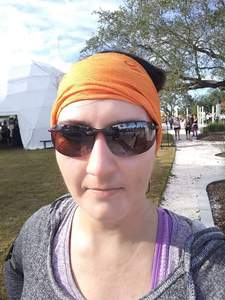 Aymee attended Wanderlust 108 Tampa - a 5k, Yoga and Meditate Festival on Nov 3rd 2018 via VetTix
