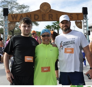 Mark attended Wanderlust 108 Tampa - a 5k, Yoga and Meditate Festival on Nov 3rd 2018 via VetTix