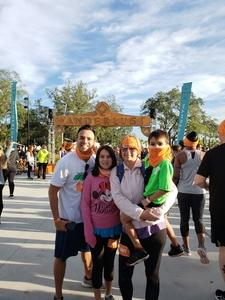Marcos attended Wanderlust 108 Tampa - a 5k, Yoga and Meditate Festival on Nov 3rd 2018 via VetTix
