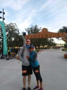 Lance attended Wanderlust 108 Tampa - a 5k, Yoga and Meditate Festival on Nov 3rd 2018 via VetTix