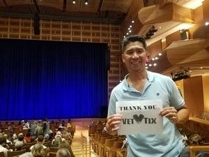 ROMEO attended The Chinese Warriors of Peking on Oct 5th 2018 via VetTix