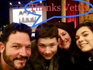 Thomas attended Hudson Valley Theater - Yesterday Beatles Tribute on Oct 13th 2018 via VetTix