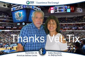 Jerry attended Dallas Mavericks vs. Beijing Ducks - NBA on Sep 29th 2018 via VetTix
