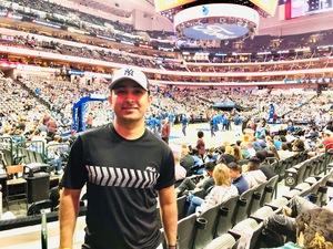 Praj attended Dallas Mavericks vs. Beijing Ducks - NBA on Sep 29th 2018 via VetTix
