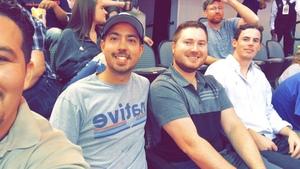 Eugenio attended Dallas Mavericks vs. Beijing Ducks - NBA on Sep 29th 2018 via VetTix
