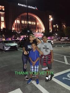 Isaiah attended Dallas Mavericks vs. Beijing Ducks - NBA on Sep 29th 2018 via VetTix